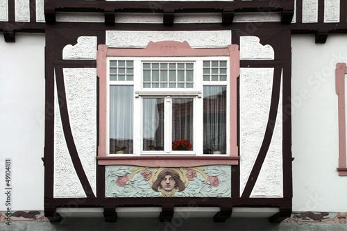 Schöner Hauserker in Wernigerode