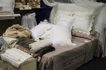 letto, cuscino