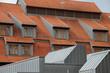 Modernes Wohnhaus mit Dacherkern