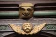 Fachwerkhausdetail in Wernigerode
