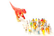 群集と恐竜