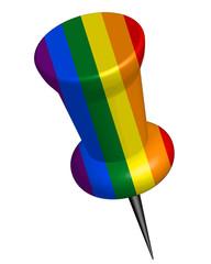 Pinnadel Regenbogen