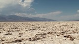 Badwater Basin (Dried Salt Lake) at Death Valley NP. USA.