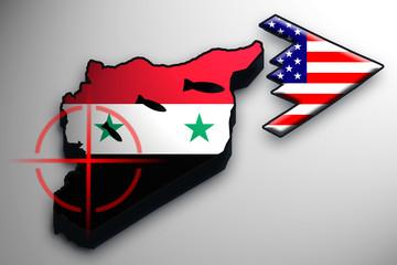 USA bombt Syrien
