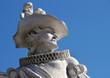 Detail Statue eines Edelmanns