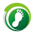 podiatrist_green_vector_logo