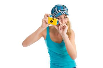 Fotografin im Urlaub