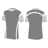 Men t-shirt , vector illustration.