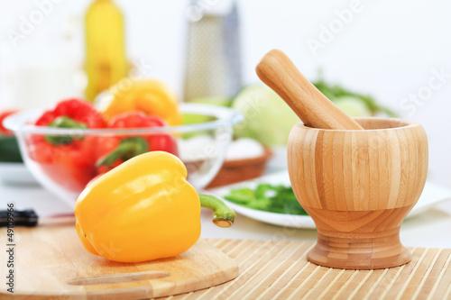 Fresh healthy food