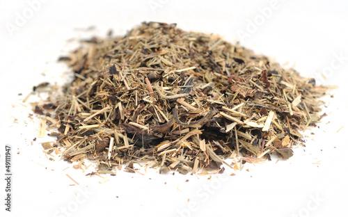 Raw organic tea