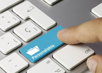 Personalakte Tastatur Finger