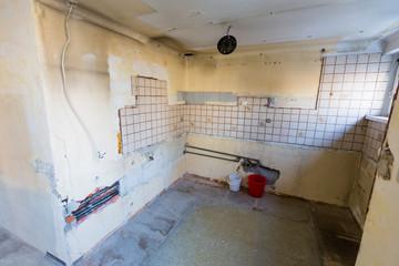 Wohnung mit Renovierungsbedarf