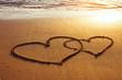 Fototapeten,valentinstag,abstrakt,hintergrund,strand