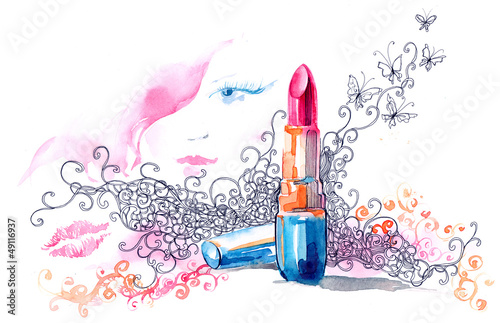 lipstick - 49116937