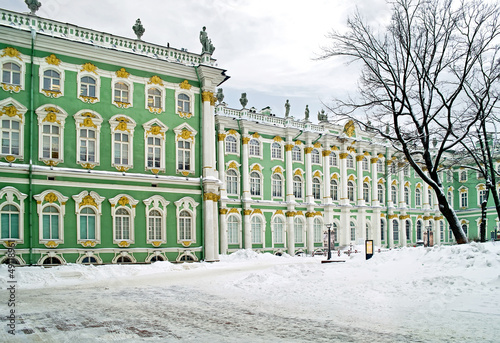 Winter palace. Courtyard