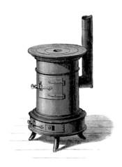 Stove - Poêle - Ofen - 19th century