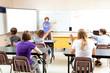 Teacher Calls on Bright Student