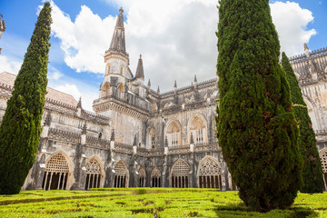 Royal cloister of Batalha monastery, Portugal