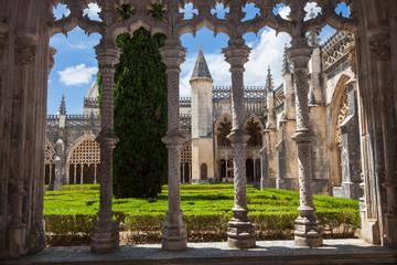 Royal cloister of Batalha monastery, Portugal