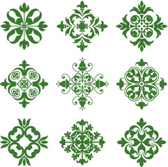 Clover Leaf Icons