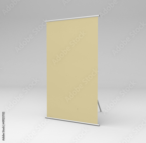 vertical yellow stand