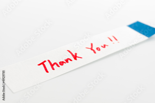 post-it to thank you