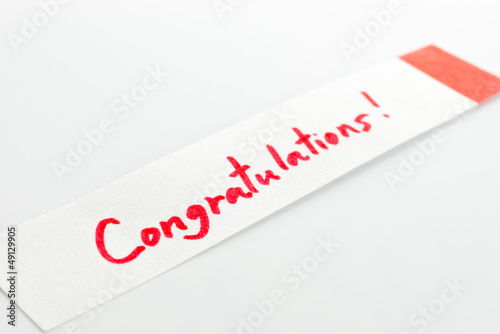 post-it to congratulations