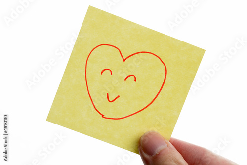 post-it to i love you