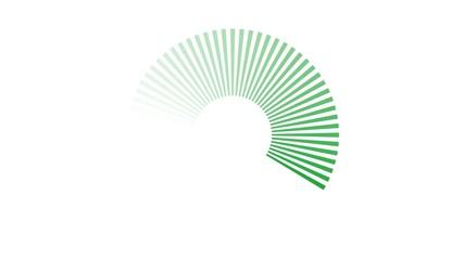 Chargement - vert
