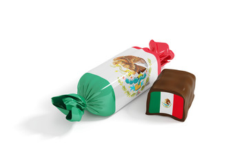 candy flag mexico