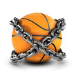 Chained basketball