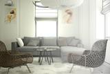 Apartment furnishing (drawing)