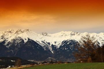beautiful landscape in Tirol/Austria