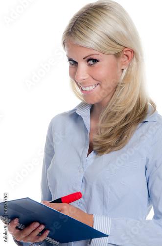 schreibende mitarbeiterin