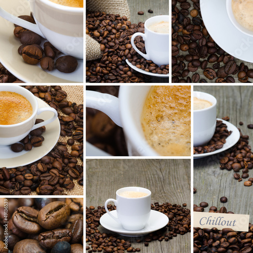 collage kaffee