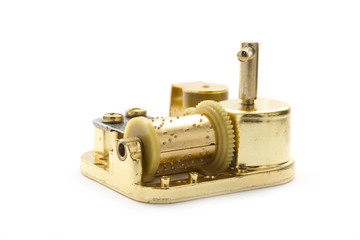 golden music box