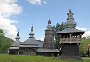 orthodox wooden church in Berest near Krynica