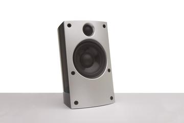 Lautsprecher in Silber für den PC
