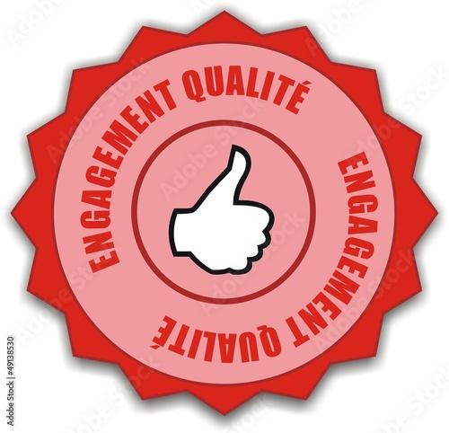 médaille engagement qualité