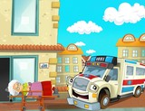 The emergency unit - the ambulance