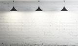 Fototapety three ceiling lamp