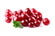 Cranberry with leaf