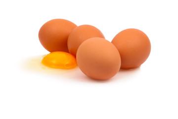 Rohe Eier