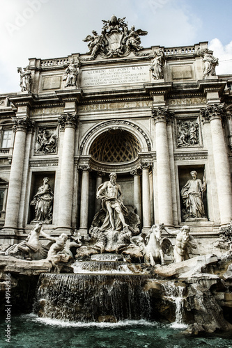 Trevi Fountain, Rome - Italy. Trevi Fountain