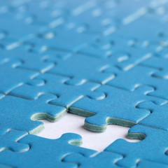Lücke im Puzzle