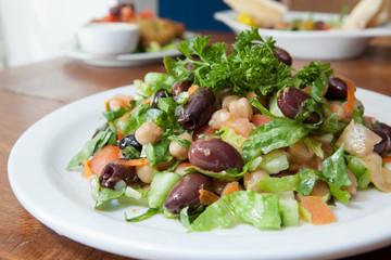 Vegetarian Mediterranean style Tabouli salad