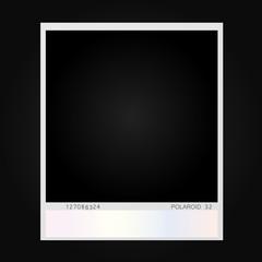 polaroid photo illustration