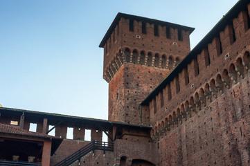 Castlle of Milano