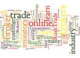 Competition Between Online Brokers Concept poster