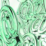 Internet Background - green -